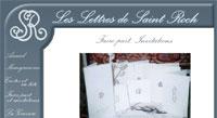 Les lettres de Saint-Roch